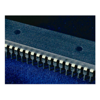 Integrated circuit (microprocessor) postcard