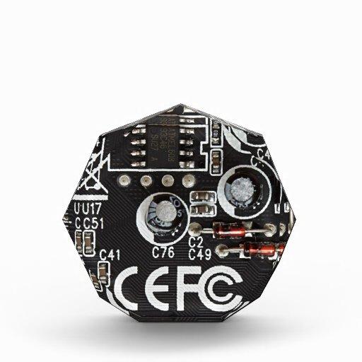 Integrated Circuits Acrylic Award