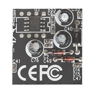 Integrated Circuits Memo Notepad