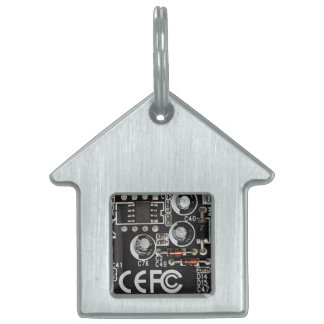 Integrated Circuits Pet Name Tag