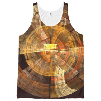 Integrity Abstract Art All-Over-Print Tank Top
