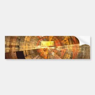 Integrity Abstract Art Bumper Sticker