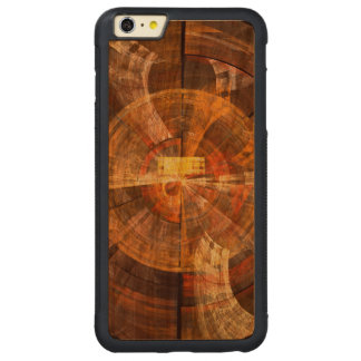Integrity Abstract Art Carved Cherry iPhone 6 Plus Bumper Case