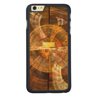 Integrity Abstract Art Carved Maple iPhone 6 Plus Slim Case