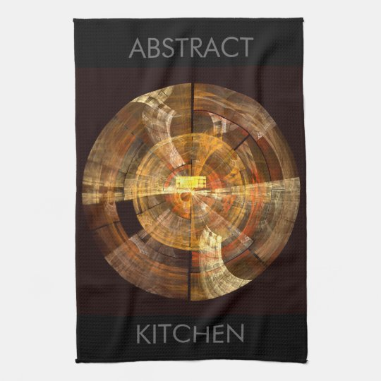 Integrity Abstract Art Kitchen Towel