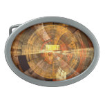 Integrity Abstract Art Oval Belt Buckle