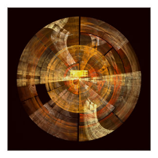 Integrity Abstract Art Print