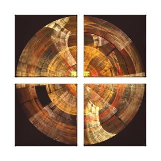 Integrity Abstract Art Quad Canvas Print