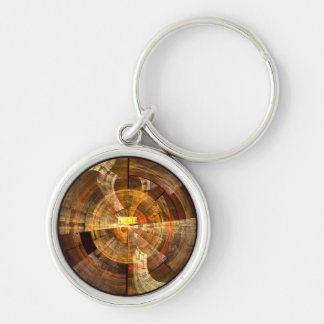 Integrity Abstract Art Small Keychain
