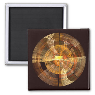 Integrity Abstract Art Square Magnet