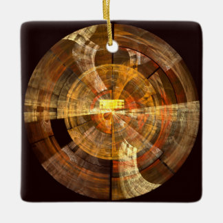 Integrity Abstract Art Square Ornament