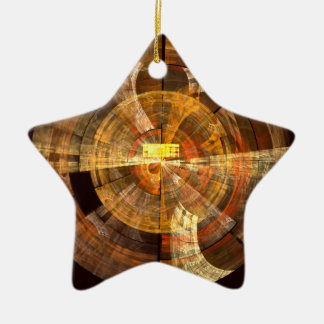 Integrity Abstract Art Star Ornament