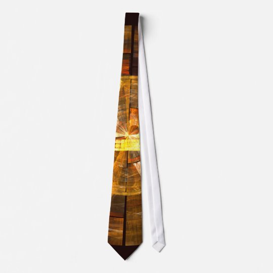 Integrity Abstract Art Tie
