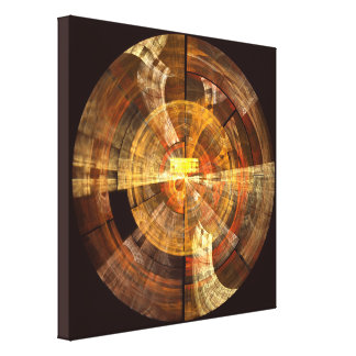 Integrity Abstract Art Wrapped Canvas Print