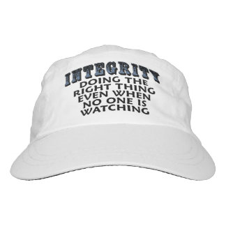 Integrity: Doing the right thing even when... Headsweats Hat