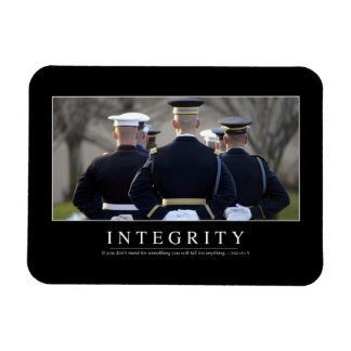 Integrity: Inspirational Quote Magnet