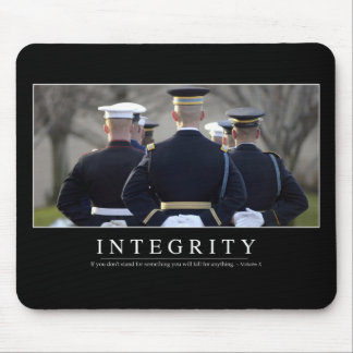 Integrity: Inspirational Quote Mouse Pad