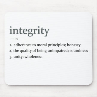 integrity mouse pad