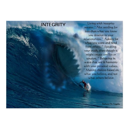 INTEGRITY  Posters 6