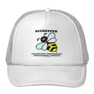 Intelectual independiente pertinaz del apicultor gorro