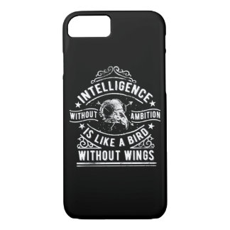 Inteligence Without Ambition Glossy Phone Case