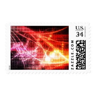 Inteligencia artificial de la tecnología sellos