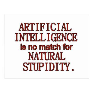 Inteligencia artificial tarjetas postales
