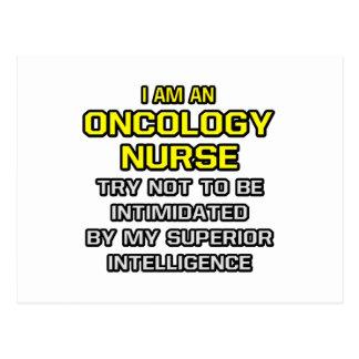 Inteligencia superior de la enfermera de la tarjetas postales