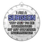 Inteligencia superior del chiste del cirujano… tabla dardos
