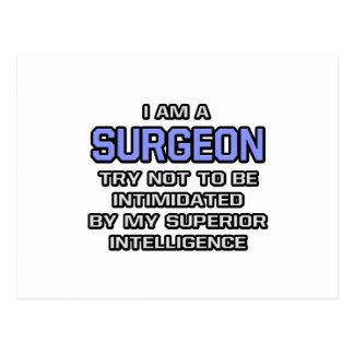 Inteligencia superior del chiste del cirujano… postal