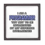 Inteligencia superior del chiste del programador… caja de joyas de calidad