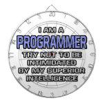 Inteligencia superior del chiste del programador… tablero de dardos