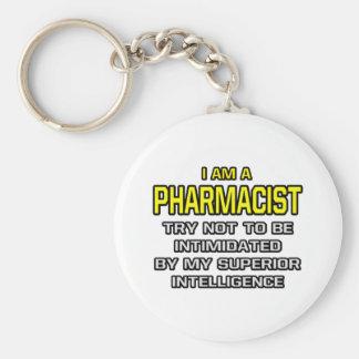 Inteligencia superior del farmacéutico… llavero