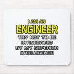 Inteligencia superior del ingeniero… alfombrillas de ratones