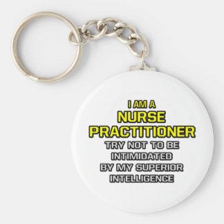 Inteligencia superior del médico de la enfermera… llaveros personalizados