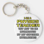 Inteligencia superior del profesor de la física… llavero