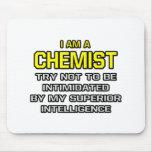 Inteligencia superior del químico… tapete de raton