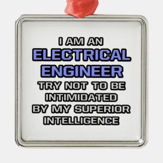 Inteligencia superior eléctrica del ingeniero… adorno de reyes