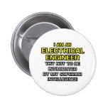 Inteligencia superior eléctrica del ingeniero… pins