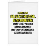 Inteligencia superior eléctrica del ingeniero… tarjeton