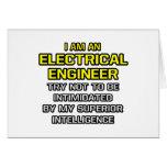Inteligencia superior eléctrica del ingeniero… tarjeta