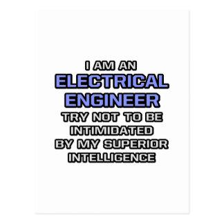 Inteligencia superior eléctrica del ingeniero… tarjetas postales