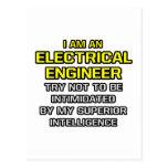 Inteligencia superior eléctrica del ingeniero… postales
