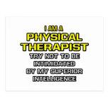 Inteligencia superior física del terapeuta… postal