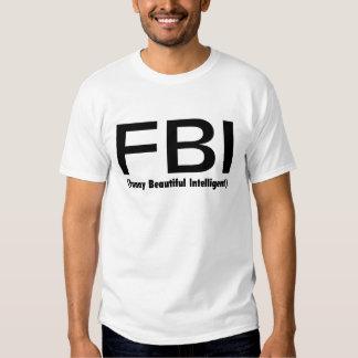 Inteligente hermoso divertido del FBI Polera