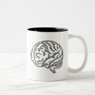 Inteligente tonto taza de dos tonos