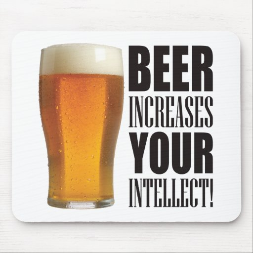 Intellect Beer Mousemats