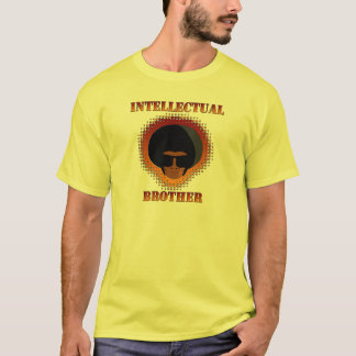 Intellectual Brother Tee Mens yellow