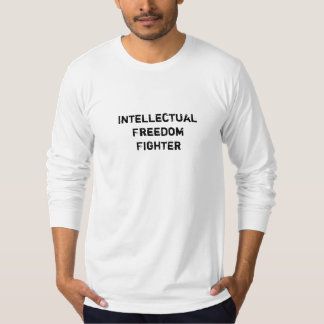 Intellectual Freedom Fighter Reads Banned Books T Shirt