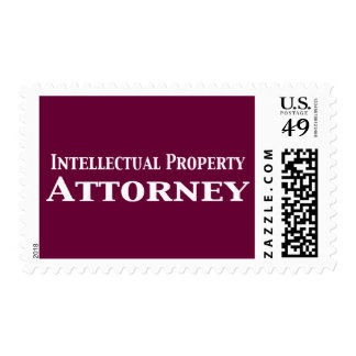 Intellectual Property Attorney Gifts Postage Stamp